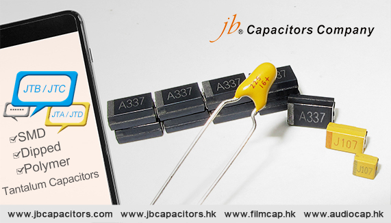 jb Competitive price for Tantalum Capacitors