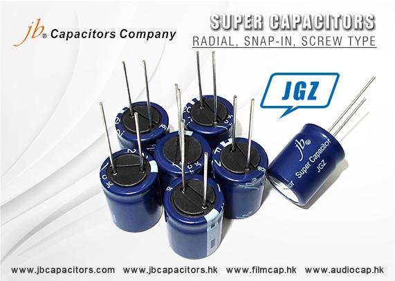 jb Capacitors Company New series-Super Capacitors