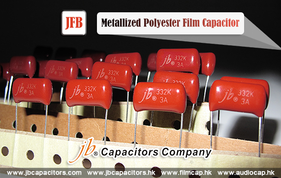 jb Capacitors Company Popular Series- JFB - Metallized Polyester Film Capacitor
