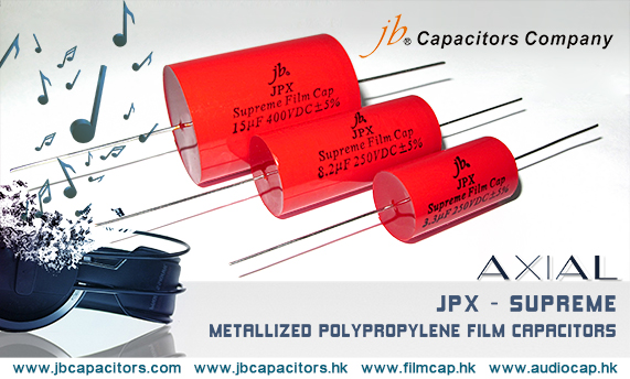 jbCapacitors High-end Audio Capacitors JPX Can Excellent Replace to European Brands but with Cheaper Price!