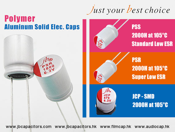 Polymer Aluminum Solid Electrolytic Capacitors jb