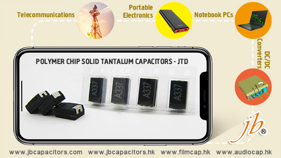 jb Capacitors Polymer Chip Solid Tantalum Capacitors-JTD series