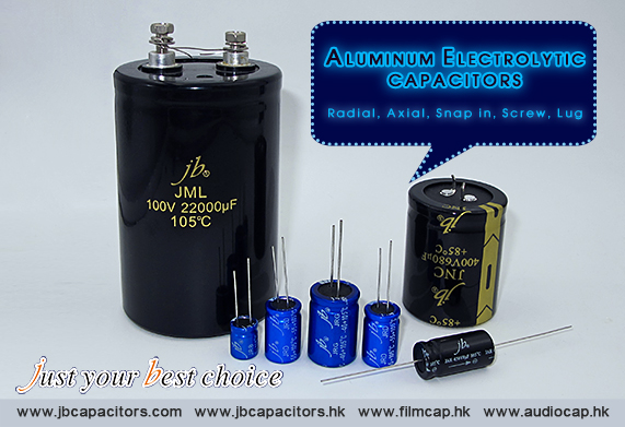 jb Popular Aluminum Electrolytic Capacitors
