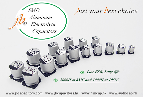 jb A Wide Variety of SMD Aluminum Capacitors Options are Available to You
