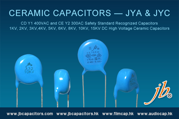 jb Offer Ceramic Capacitors—JYA &JYC